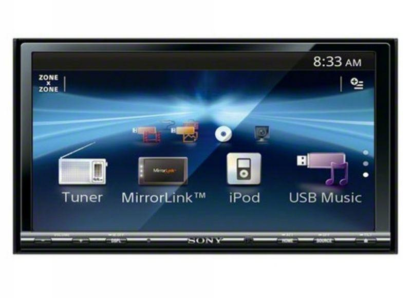 Sony XAV-741 7' Touch Screen iPhone Double DIN Headunit DVD Player