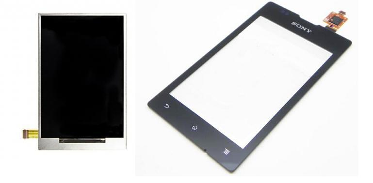 Sony Xperia E C1505 Dual C1605 Display Lcd / Digitizer Touch Screen