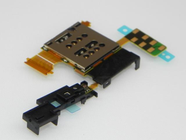 sony Xperia Ion LT28 LT28i Sim Card Slot Pin Holder Ribbon Flex Cable
