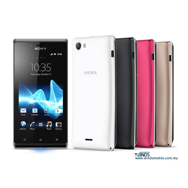SONY XPERIA J  GOLD   PINK   WHITE   BLACK   STOCK READYXperia J Colors Pink