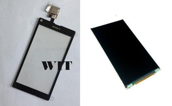 Sony Xperia L C2105 C2104 S36h Display Lcd / Digitizer Touch Screen