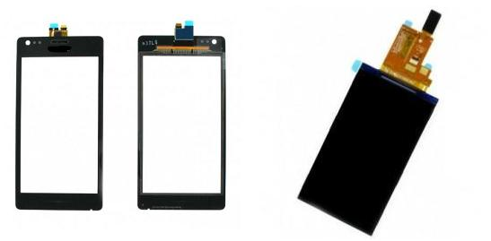 Sony Xperia M C1905 Display LCD / Digitizer Glass Touch Screen