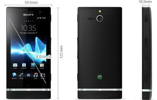 SONY XPERIA P LT22i ORIGINAL MIDLAND SET SEALED BOX