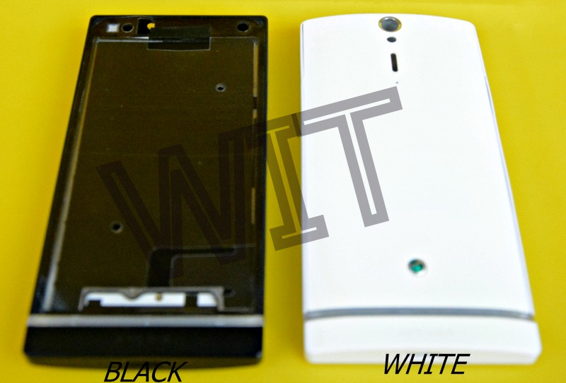 Sony Xperia S LT26 LT26i Housing Middle Bezel Back Battery Cover