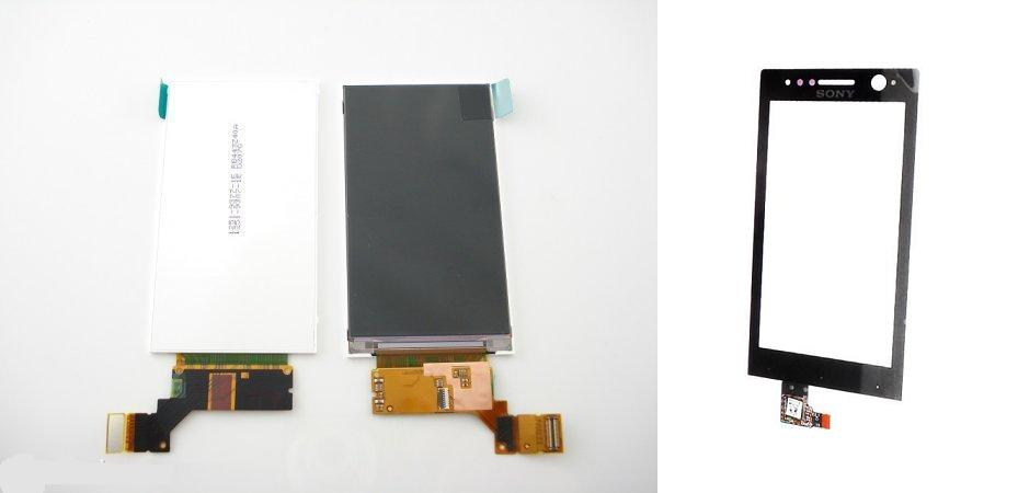 Sony Xperia U ST25 ST25i Display Lcd / Digitizer Touch Screen