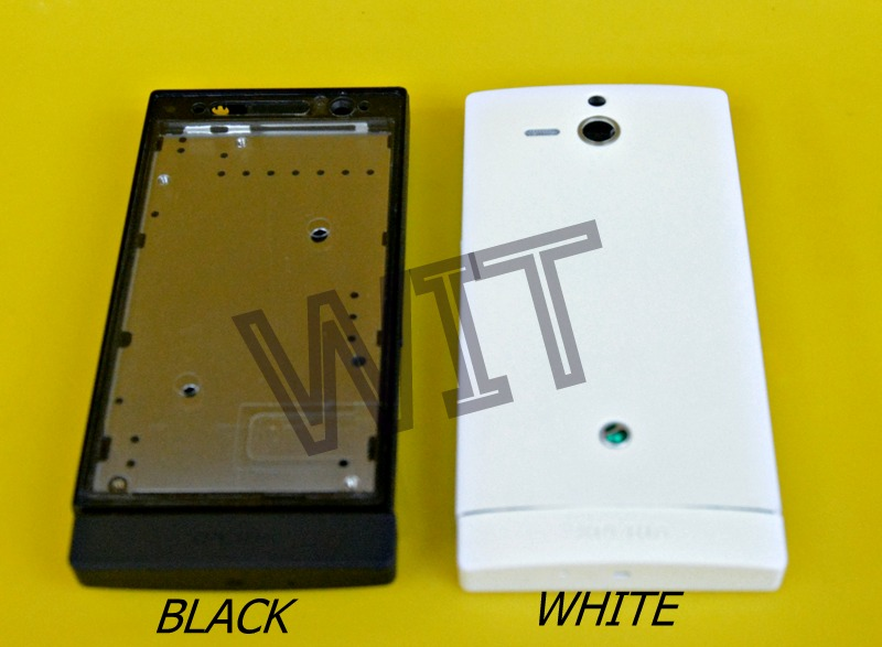 Sony Xperia U ST25 ST25i Housing Middle Bezel Battery Back Cover