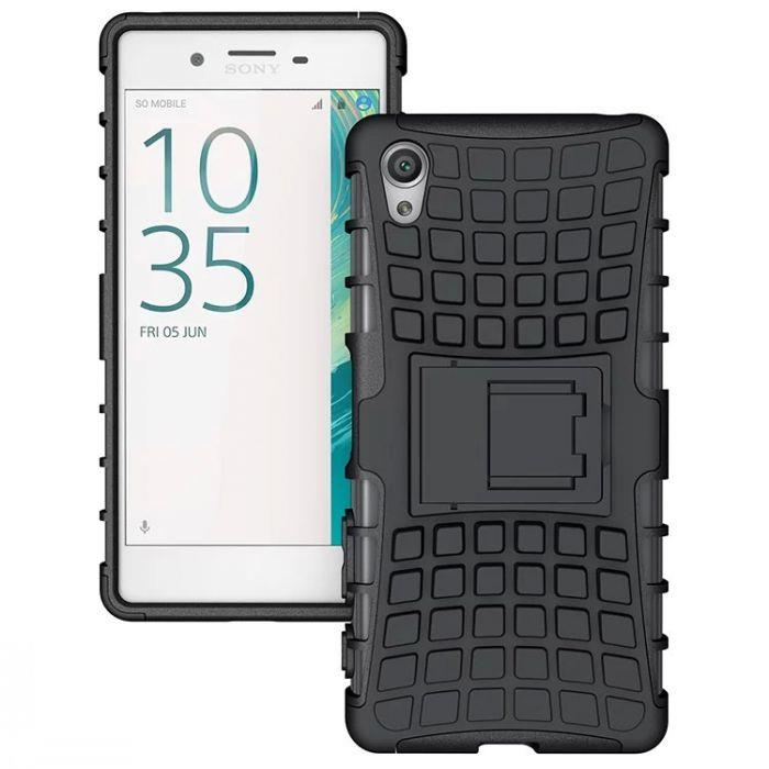 SONY XPERIA XA TYRE DESIGN BACK CASE WITH STAND