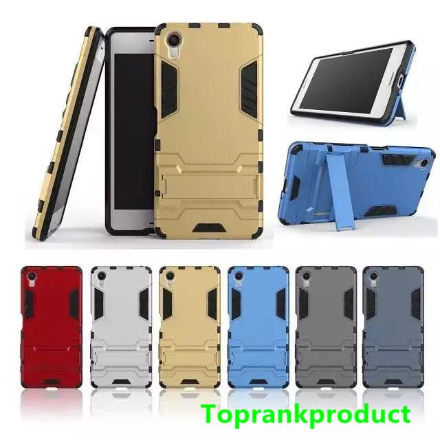 Sony Xperia XA X ShakeProof PC+TPU Stand Case Cover Casing + Gift