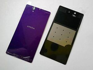 Sony Xperia Z L36 L36H LT36H C6603 Battery Back Cover Housing (Purple)