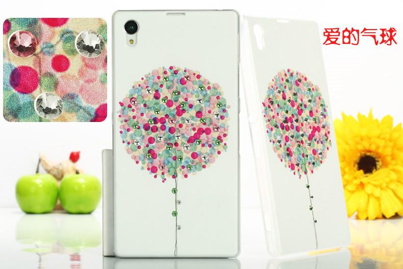 Sony Xperia Z1 L39H Diamond Back Case Cover Casing + Free Gift