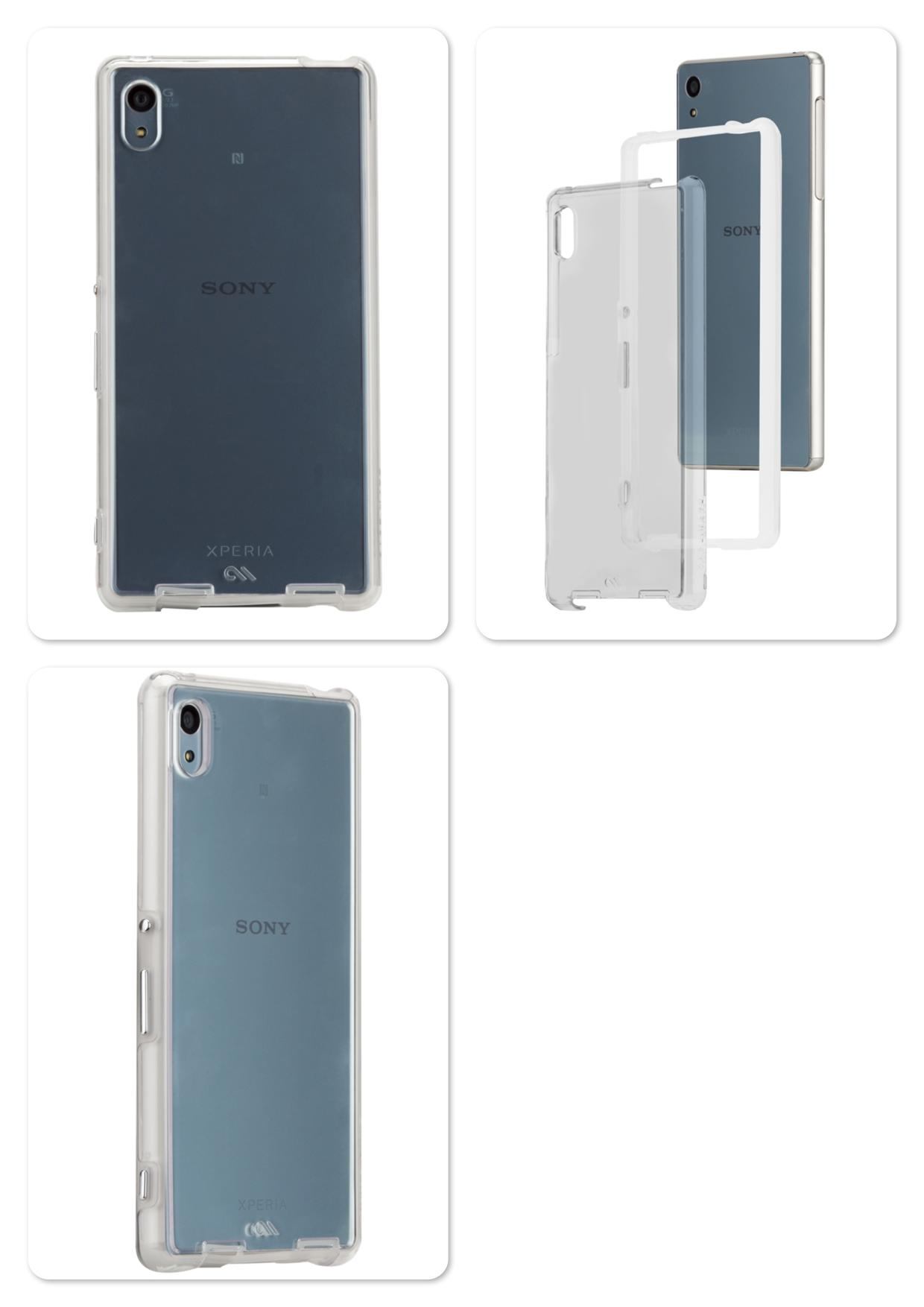Sony Xperia Z3+ / Z3 Plus / Z4 Case Mate Naked Tough Bumper Case