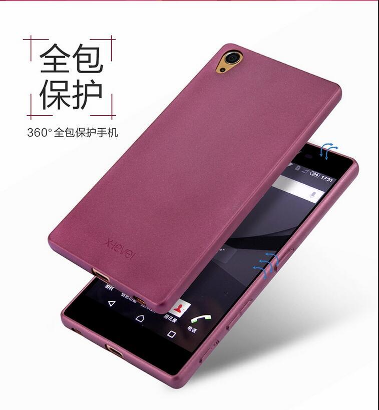 for Sony Xperia Z5 Premium ultra thin X-level brand case
