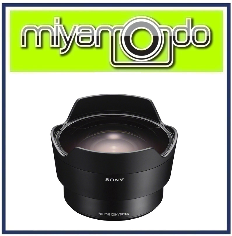 NEW Sony16mm Fisheye Converter Lens for FE 28mm f/2 Lens (SEL057FEC)
