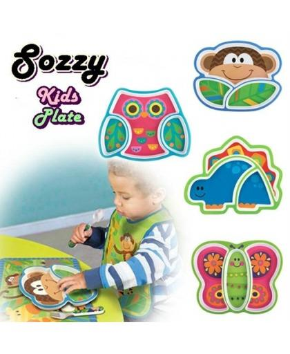 SOZZY CHILDREN PLATE Age Group:&gt6 months