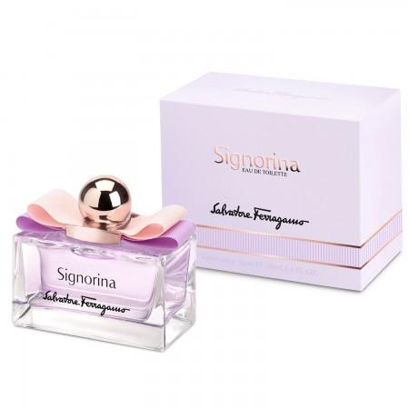SP165 100% SINGAPORE ORIGINAL SIGNORINA EDT BY SALVATORE FERRAGAMO HER