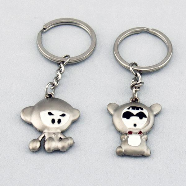 Space Monkeys Lover Couple Key Chain Keychain K42
