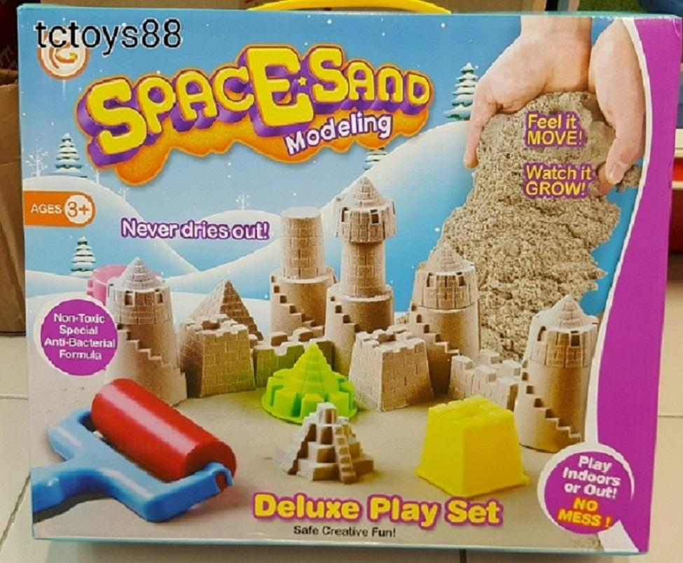 SPACE SAND / Kinetic sand Castle Deluxe play set
