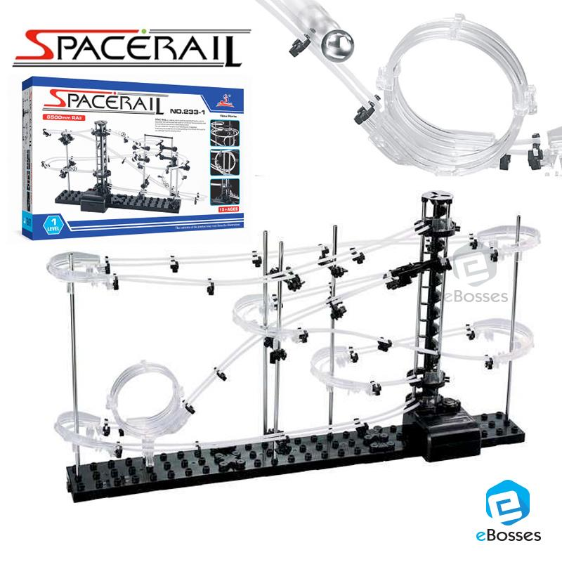 SPACERAIL Level 1 Marble Roller Coaster DIY Model