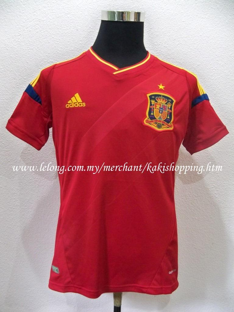 Spain Home 2012/2013 Euro 2012 Triple A Jersi/Jersey-Size XL Only
