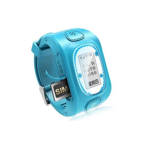 Spalm8 Deluxe Version Wearable Phone & Locator For Kids - Blue