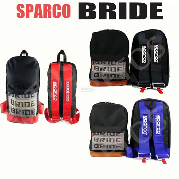 SPARCO BRIDE BAG (RED/ BLUE)