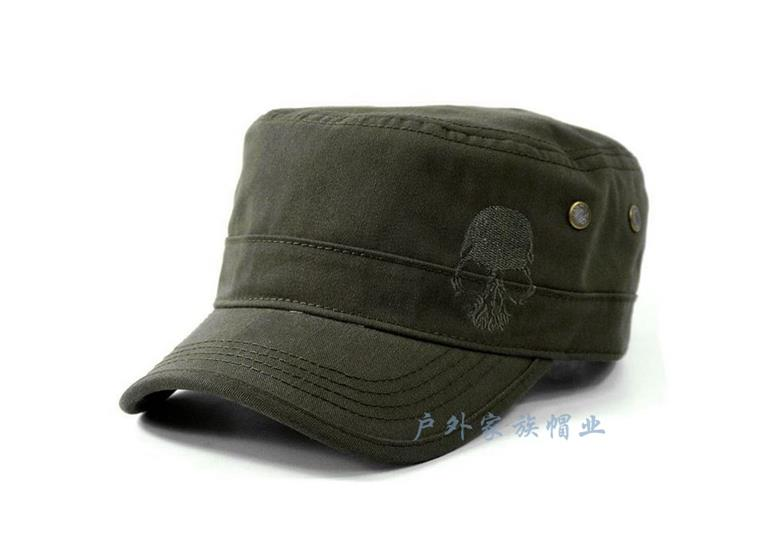 Special Men Outdoor Skull Sullen Army Military US Navy Anti-UV Cap