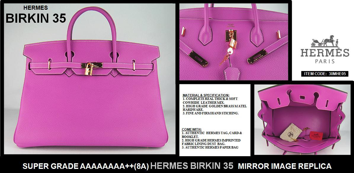 Special Offer Super Grade 8a Hermes Birkin 35 1 Freedelivery