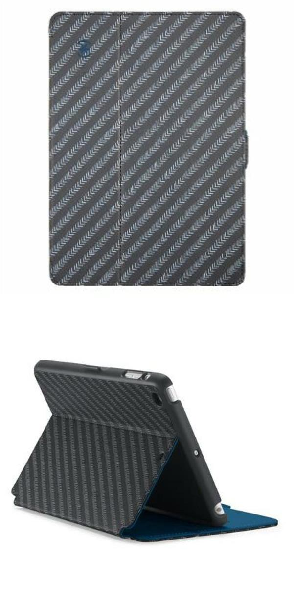 Speck iPad Air StyleFolio- MoveGroove Slate/Deep Sea Blue