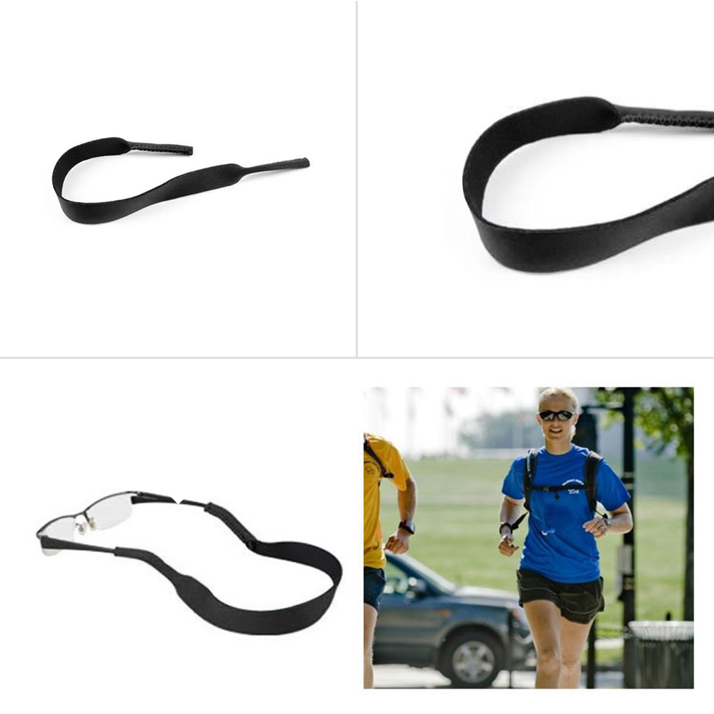 Spectacle Glasses Sunglasses Neoprene Stretchy Sports Band Strap Cord ..