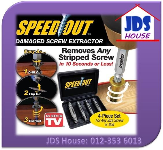 Speed Out Damage Screw Extractor Broken Bolt Removal Tool
