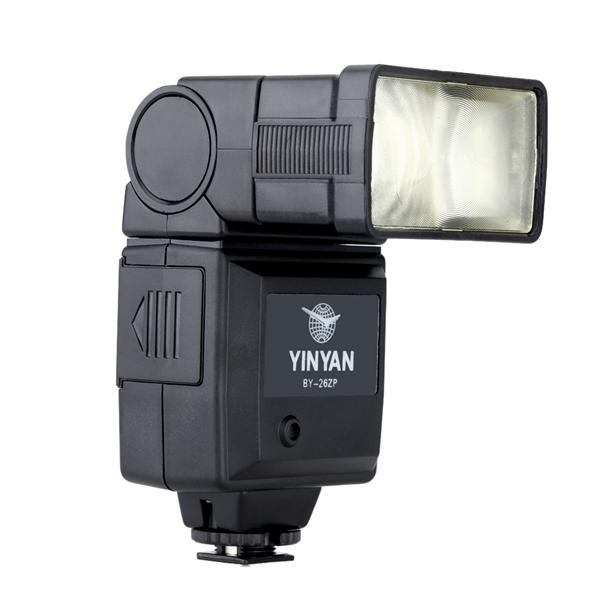 Speedlight Flash Light Manual Electronic Mini Hot Shoefor DSLR Cameras