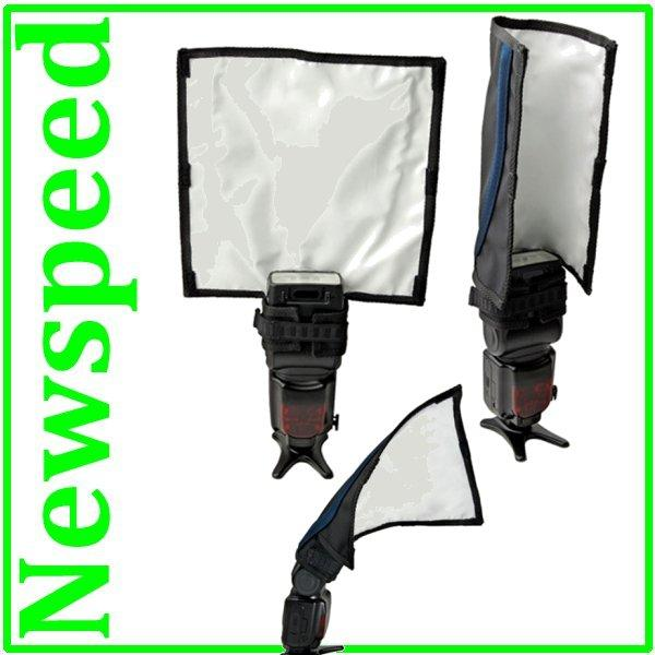 New Speedlite Flash Bender Reflector for all Speedlight Flash