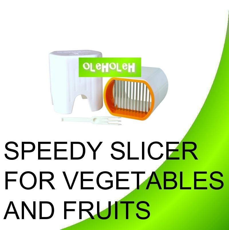 Speedy Slicer For Vegetables and Fruits