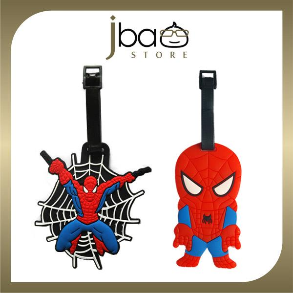 Spider-man Luggage Tag Spiderman Suitcase School Bag Name Tags Gift