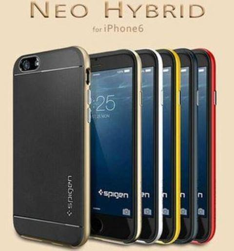 Spigen APPLE IPHONE 5 / 5S 6 4.7 PLUS 5.5 Neo Hybrid Case + FREE GIFT
