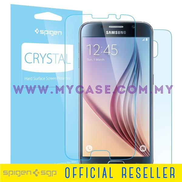 SPIGEN Galaxy S6 Case Steinheil Crystal Screen Protector