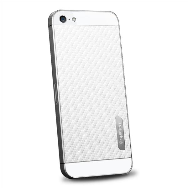 SPIGEN SGP Apple iPhone 5 Skin Guard - Carbon White