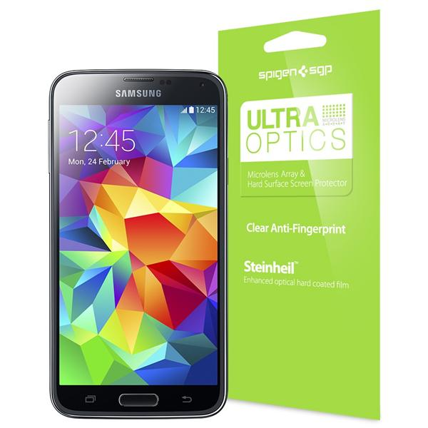 SPIGEN SGP Galaxy S5 Screen Protector Steinheil Ultra Optic