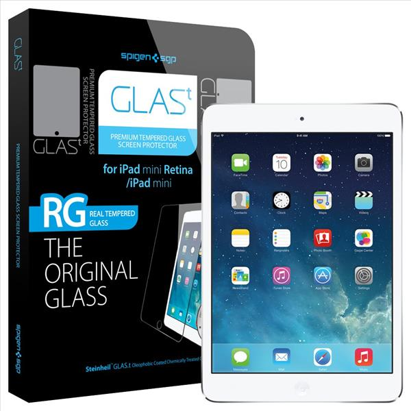 SPIGEN SGP iPad Mini Retina GLAS.t Premium Tempered Glass