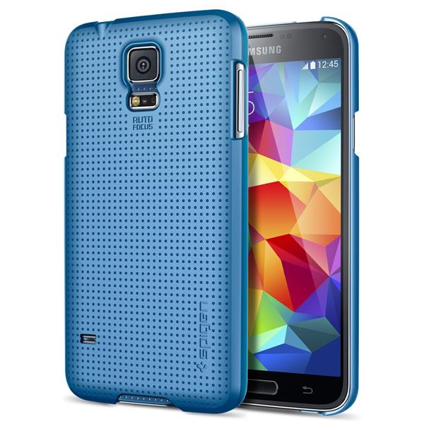 SPIGEN SGP Samsung Galaxy S5 Ultra Fit Case Electric Blue