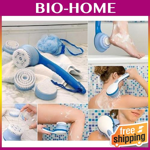Spin Spa Shower Brush REMOVE DEAD SKIN CARE HEALTH CLEAN BODY SCRUB G
