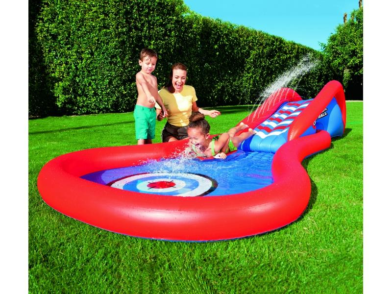 SPLASH AND PLAY CANNON BALL POOL