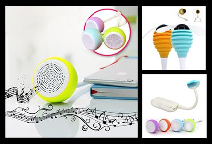 Spore laptop PC USB LED Light Fan Bluetooth Speaker portable Wireless