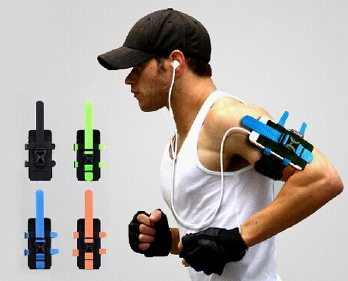 Sport outdoors arm wrist band phone holder riding equipment fitness