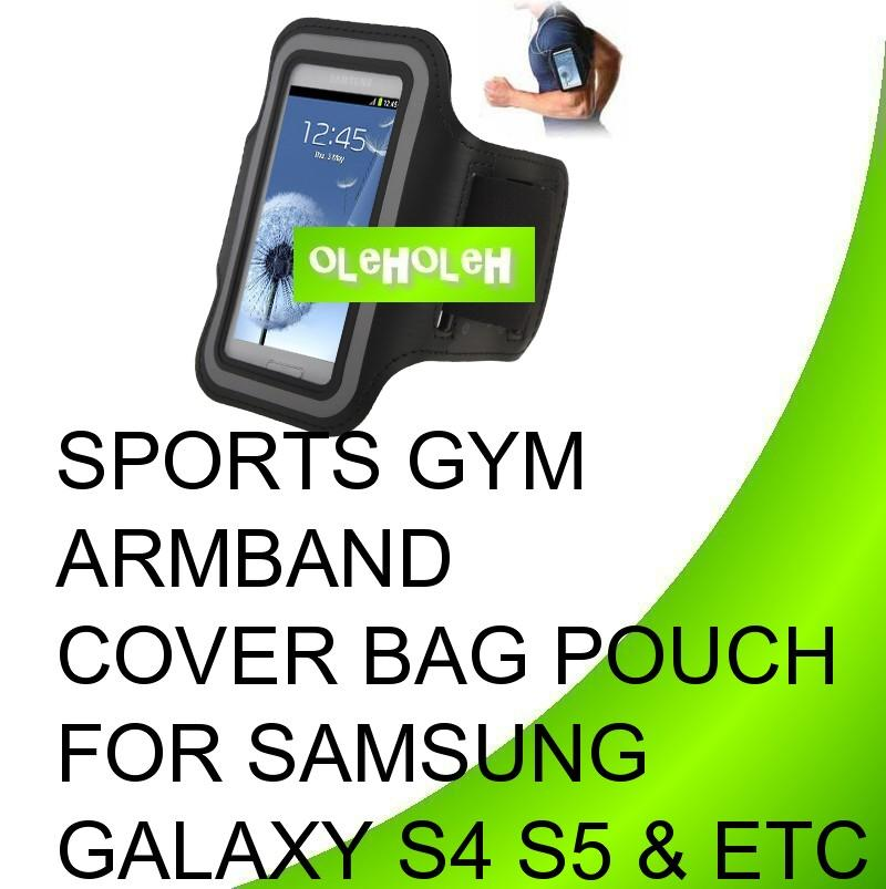 Sports Gym Armband Cover Bag Pouch For Samsung Galaxy S4 S5 and etc