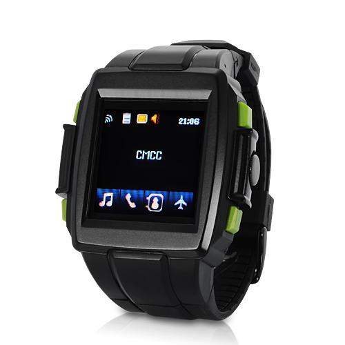 Sports Watch Phone (Quad Band, Touchscreen, Audio Player)