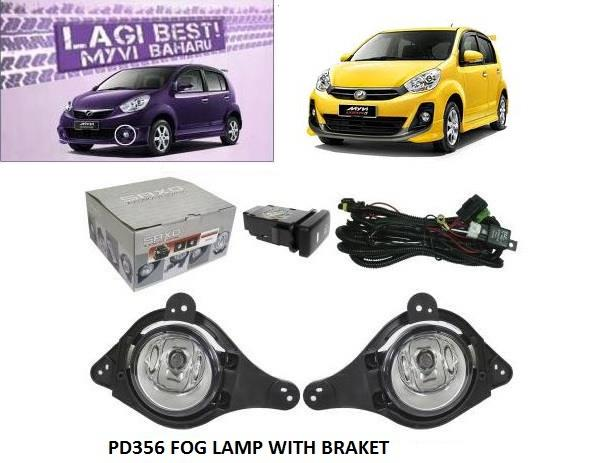 spot sport light fog lamp myvi lagi best 2012-2015