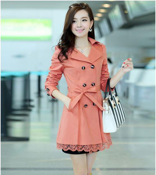 Spring women's trench coats – Novelties of modern fashion photo blog