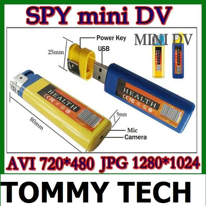 spy Lighter hidden DV USB Mini DVR Hidden Video Camera Camcorder