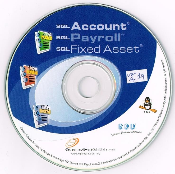 SQL Accounting Software Installation CD